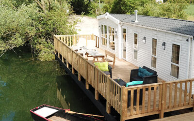 Book a lodge with your family or friends!!